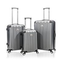 Jetstream 3 Pcs Harside Luggage Set (Charcoal)