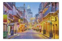 New Orleans, Louisiana - Bourbon Street at Night 9006724 (19x27 Premium 1000 Piece Jigsaw Puzzle, Made in USA!)