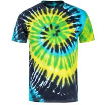 Magic River Handcrafted Tie Dye Youth T Shirts - 5 Kids Sizes - 11 Color Patterns