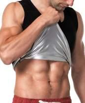 MOLLDAN Sauna Vest for Men Sweat Tank Top Pullover Workout Shirt Waist Trainer