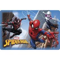 Zak Designs Marvel Comics Kid's Placemat, Set of 1, Spider-Man & Spider-Gwen