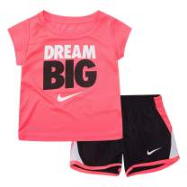 Baby Girls' Graphic T-Shirt and Shorts 2-Piece Outfit Set