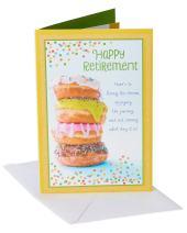 American Greetings Retirement Card (Doughnuts, Sweet Life)