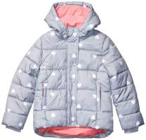 Amazon Essentials Girls' Heavy-Weight Hooded Puffer Jackets