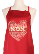 Unique Kosher Apron with Heart Makes for a Very Happy Mothers Day Ima Jewish Gifts for Women Perfect for Jewish Mama's Kitchen Made with Love in Jerusalem Easy wash Generous Size.