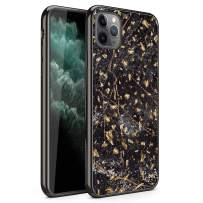 ZIZO Refine Series iPhone 11 Pro Max Case - Ultra Slim Thin Case - Black Marble