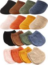 8 Pairs Toe Topper Liner Half Socks Seamless Women's Socks Cotton Toe Half Socks