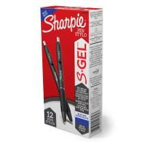 Sharpie S-Gel, Gel Pens, Bold Point (1.0mm), Blue Ink Gel Pen, 12 Count