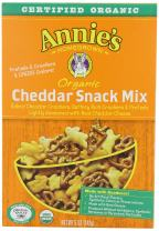Annie's Homegrown Organic Snack Mix Bunnies Cheddar, 5-Ounce (Pack of 6)