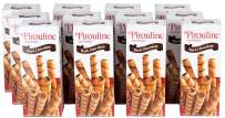 Pirouline Rolled Wafers, Dark Chocolate, 3.25-Ounce Boxes (Pack of 12)