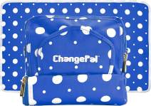 ChangePal Portable Diaper Clutch Bag Includes Wipes Case and Changing Pad