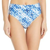 Splendid Women's Banded High Waist Swimsuit Bikini Bottom