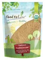 Organic Garlic Powder, 2 Pounds - Non-GMO, Kosher, Raw, Dried, Bulk