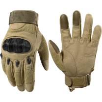 WTACTFUL Tactical Gloves Motorcycle Full Finger Gloves for Military Army Airsoft Paintball