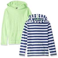 Amazon Brand - Spotted Zebra Boys Light-Weight Hooded Long-Sleeve T-Shirts