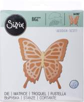 Sizzix Bigz Die 664387 Layered Butterfly by Jessica Scott, Multicolor