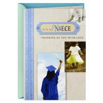 Hallmark Graduation Card for Niece (Thinking of You with Love)