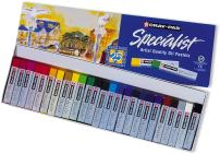 Sakura ESP25 25-Piece Cray-Pas Specialist Assorted Colors Oil Pastel Set