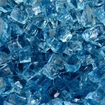 Harbor Mist - Fire Glass for Indoor and Outdoor Fire Pits or Fireplaces | 10 Pounds | 1/4 Inch
