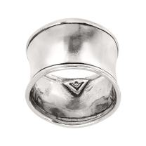 Silpada 'Hammered Cuff' Ring in Sterling Silver