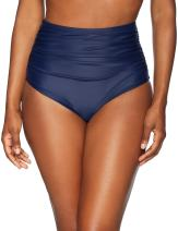 Coastal Blue Women's Swimwear High Waist Bikini Bottom