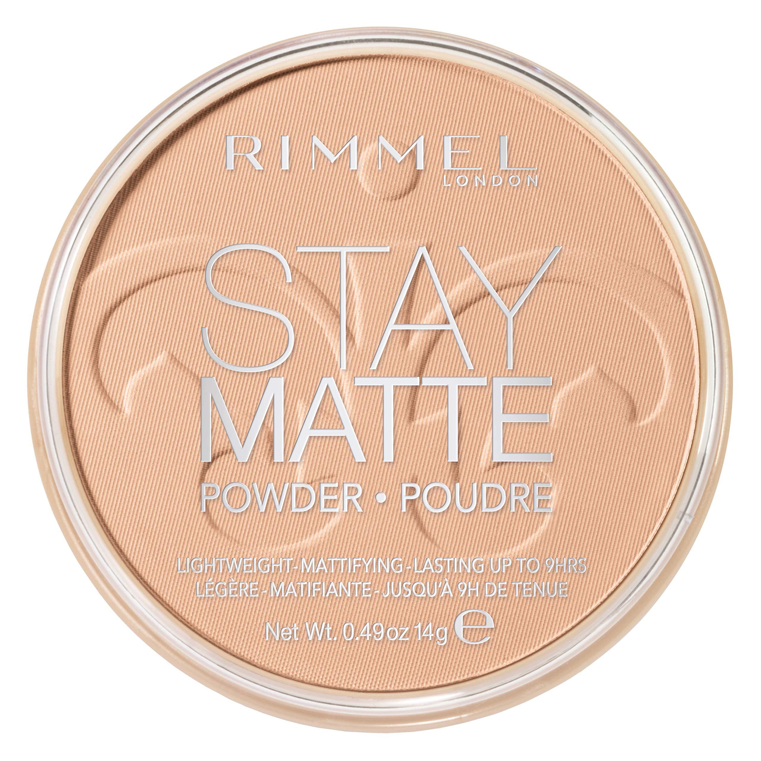Rimmel Stay Matte Pressed Powder, Silky Beige, 0.49 Fluid Ounce