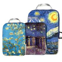 Packing Cubes Travel Organizer- Compression Packing Cubes for Carryon Luggage painting derivatives(Multiple pictures)