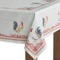 Maison d' Hermine Campagne 100% Cotton Tablecloth 60 - inch by 90 - inch.
