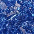 Deep Sea Blue - Fire Glass for Indoor and Outdoor Fire Pits or Fireplaces | 10 Pounds | 1/4 Inch