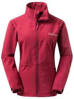 Wantdo Women's Windproof Softshell Jacket Insulated Spring Autumn Windbreaker