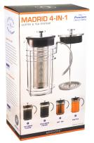GROSCHE MADRID 4-in-1 Hot and Cold Coffee and Tea System 1500 ml, 51 oz, 12 cup capacity