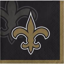 New Orleans Saints Beverage Napkins, 48 ct