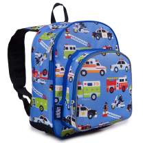 Wildkin Backpack for Toddlers, Boys and Girls Ideal for Daycare, Preschool and Kindergarten, Perfect Size for School and Travel, Mom's Choice Award Winner, Olive Kids (Heroes)