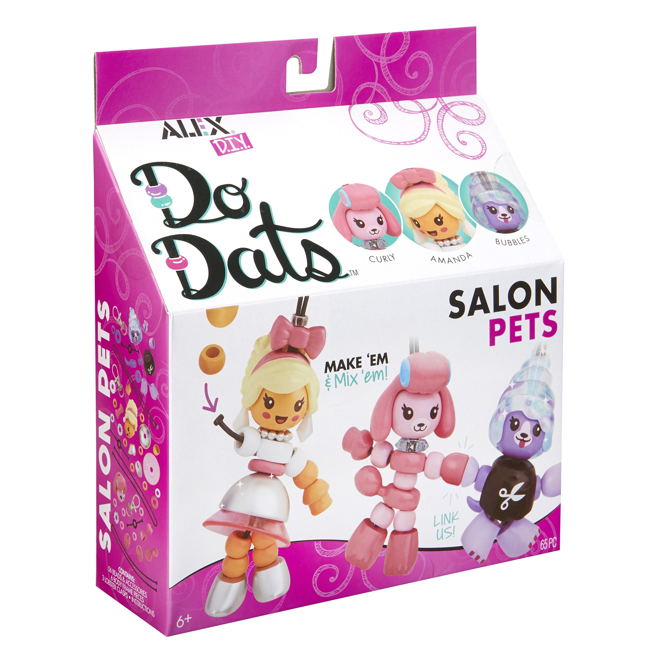 Alex DIY Do Dats Salon Pets Kids Art and Craft Activity