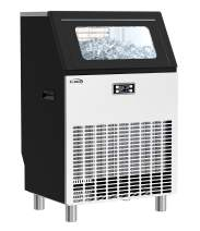 KoolMore Undercounter Ice Maker Machine, Commercial and Residential, Produces 198 lbs. of Cubes in 24 Hrs, Energy Efficient for Bar, Cafe, Restaurant or Event Use