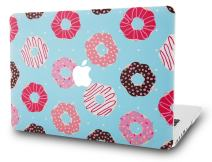 "KECC Laptop Case for Old MacBook Pro 13"" Retina (-2015) Plastic Hard Shell Cover A1502 / A1425 (Doughnut)"