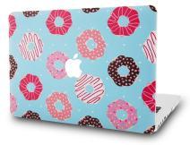 "KECC Laptop Case for Old MacBook Pro 13"" Retina (-2015) Plastic Hard Shell Cover A1502 / A1425 (Doughnut)"