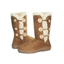 Sara Z Ladies Microsuede 10 Inch Winter Boots