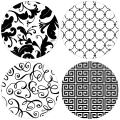 Thirstystone Stoneware Coaster Set, It's All Black and White