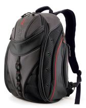 Mobile Edge Express Backpack- 16-Inch PC/17-Inch Mac (Black/Silver)
