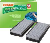Fram CF10136 Fresh Breeze Cabin Air Filter with Arm & Hammer