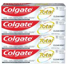 Colgate Total Toothpaste with Whitening Mint 19.2 Ounce, 4-Pack