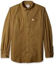 Carhartt Men's Rugged Flex Rigby Long Sleeve Work Shirt (Regular and Big & Tall Sizes)