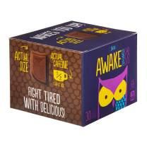 AWAKE Caffeinated Chocolate Energy Bites, Dark Chocolate, 30Count