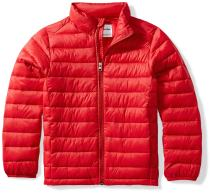 Amazon Essentials Boys' Light-Weight Water-Resistant Packable Puffer Jacket