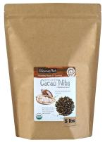 Wilderness Poets Cacao Nibs (Sweetened with Coconut Nectar) - Organic Raw Cacao Nibs, 5 lb (80 oz)