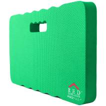 Thick Kneeling Pad, Garden Kneeler for Gardening, Bath Kneeler for Baby Bath, Kneeling Mat for Exercise & Yoga, Knee Pad for Work, Floor Foam Pad, Extra Large (XL) 18 x 11 x 1.5 Inches, Green