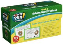 Teacher Created Resources Power Pen Learning Cards: Solving Word Problems Grade 3 (6998)