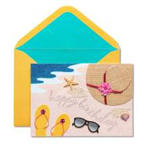 Papyrus Birthday Card (Beach)