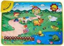 WolVol Musical Play Mat for Baby Toddlers Kids, Crawling Baby Toy Learning Development, Animals and Farm Activity Sounds